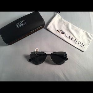 Kaenon Polarized Aviator Sunglasses